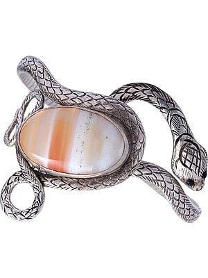 Onyx Serpent Bracelet