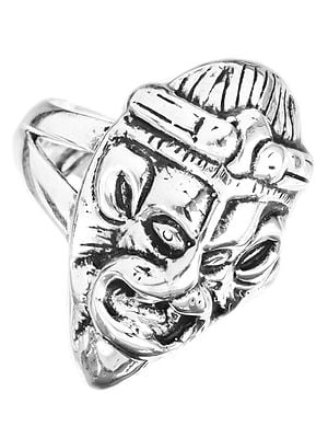 Lord Narasimha (Sterling Ring)