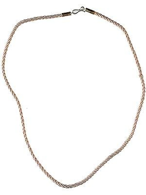 Knotted Cord with Sterling Closure to Hang Your Pendant On