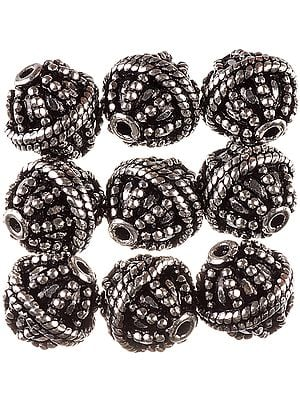 Knotted Rope Fine Beads (Price Per Pair)
