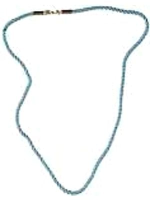 Knotted Rope Necklace with Sterling Closure to Hang Your Pendants On