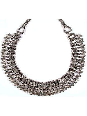 Labradorite Ratangarhi Necklace from Rajasthan