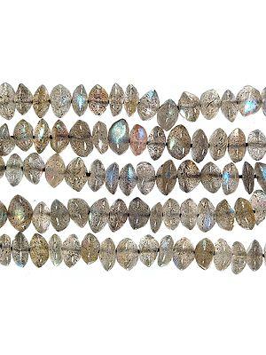 Labradorite Plain Rondells