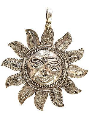 Lord Surya (Sun) Large Pendant