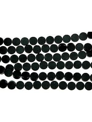 Matt Finish Black Onyx Circles