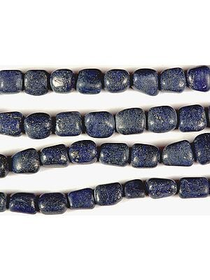 Matt Finish Lapis Lazuli Plain Nuggets