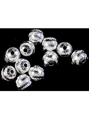 Matt Finished Sterling Fine Balls (Price Per Pair)