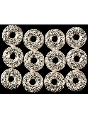 Matt Finished Sterling Large Washers (Price Per Pair)