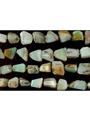 Peru Opal Faceted Tumbles