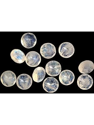 Rainbow Moonstone Rounds (Price Per Piece)