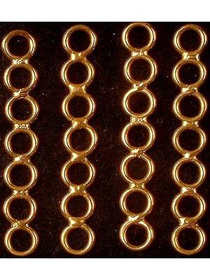Seven Jump Ring Bar