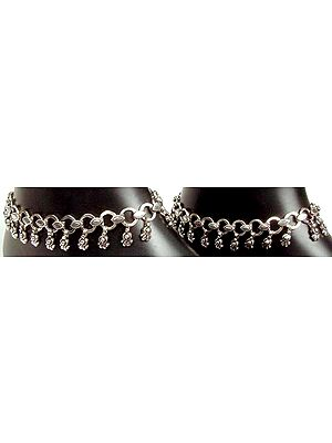 Sterling Anklets from Ratangarh