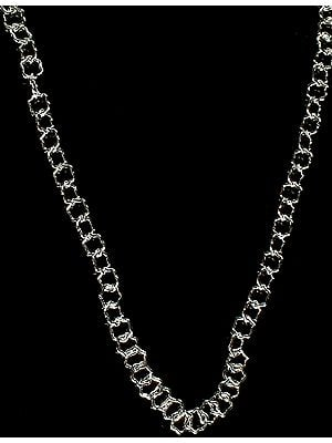 Sterling Designer Star Chain