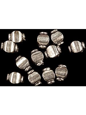 Sterling Four-Faced Beads (Price Per Four Pieces)