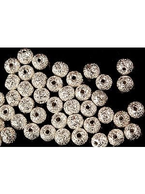 Sterling Frosted Balls (Price Per Dozen)