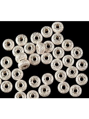 Sterling Frosted Washers (Price Per Pair)