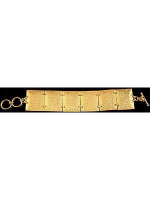 Sterling Gold Plated Bracelet