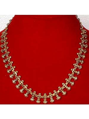 Sterling Gold Plated Necklace from Ratangarhi