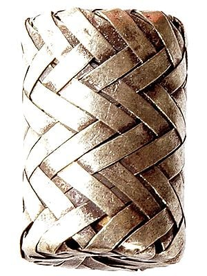 Sterling Matted Cylinder (Price Per Piece)