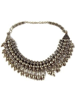 Sterling Necklace from Ratangarh