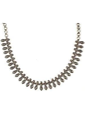 Sterling Ratangarhi Necklace