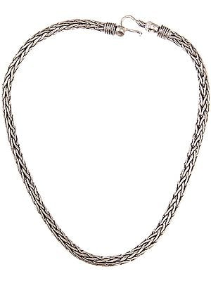 Sterling Snake Chain Necklace