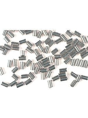 Sterling Spiral Cylinders (Price Per Dozen)