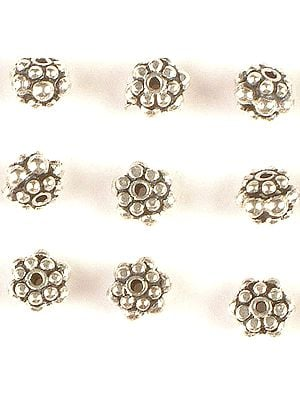 Sterling Three Layers Superfine Spacer (Price Four Pieces)