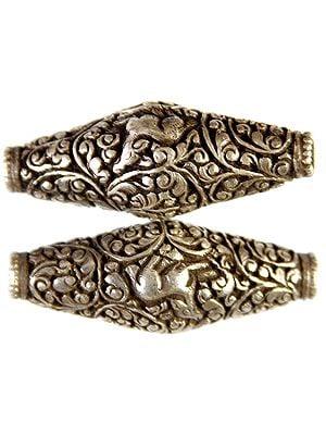 Superfine Handcarved Auspicious Buddhist Drum Beads (Price Per Piece) (Mixed Lot)