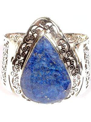 Tear Drop Lapis Lazuli Bracelet