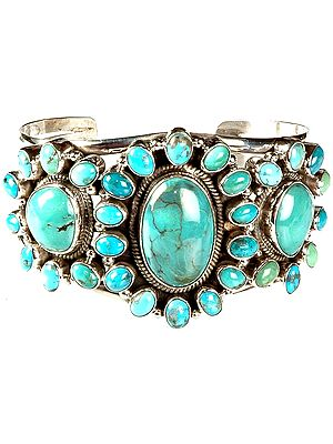 Turquoise Cuff Bangle