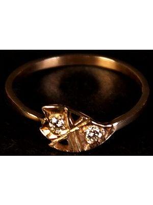 Twin Diamond Ring