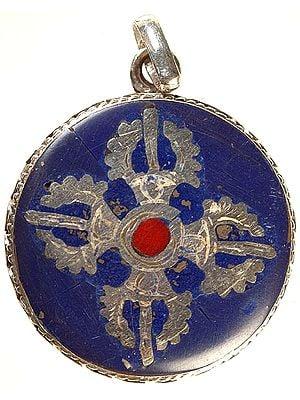 Vishva Vajra Inlay Pendant