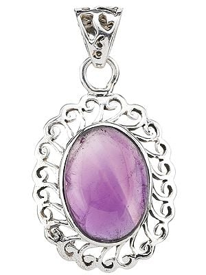 Amethyst Lattice Pendant