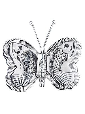 Fishes in Butterfly Pendant