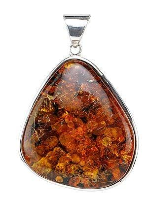 Amber Large Pendant