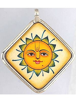 Lord Surya Pendant - Sterling Silver