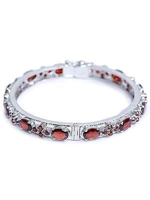 Superfine Garnet Bracelet