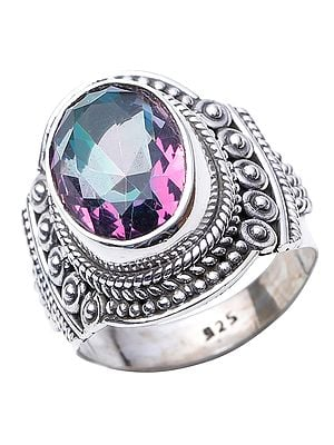 Mystic Topaz Oval Ring