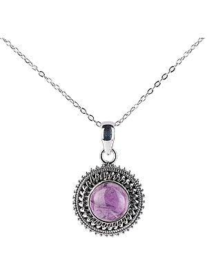Chakra (Round) Sterling Silver Pendant