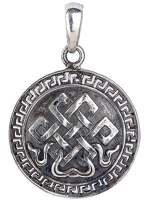 Endless Knot (Ashtamangala) Pendant