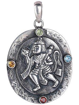 Large Lord Hanuman Pendant