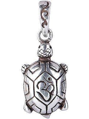 Om Tortoise Pendant