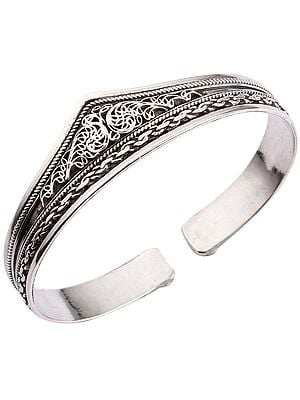 Filigree Cuff  Bracelet from Nepal(Adjustable Size)
