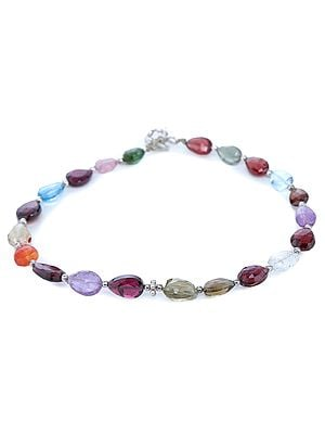 Multi-Color Stone Bracelet