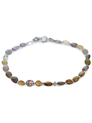 Multi-Stone Bracelet with Sterling Silver