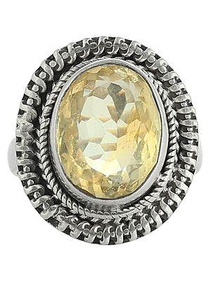 Lemon Topaz Ring