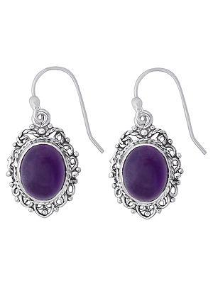 Designer Earrings with Gemstone