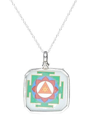Yantra Pendant with Sterling Silver