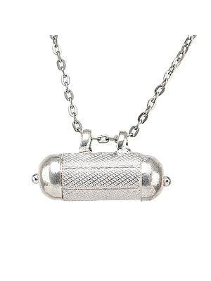 Sterling Silver Talisman Scroll Charm